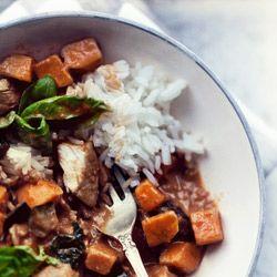 Curry z bakłażanem i kurczakiem x2 - Kwestia Smaku