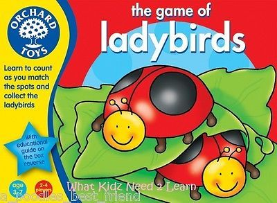 ♥ Orchard Toys GAME OF LADYBIRDS Maths Educational Kids Game Gift Girls Boys ♥