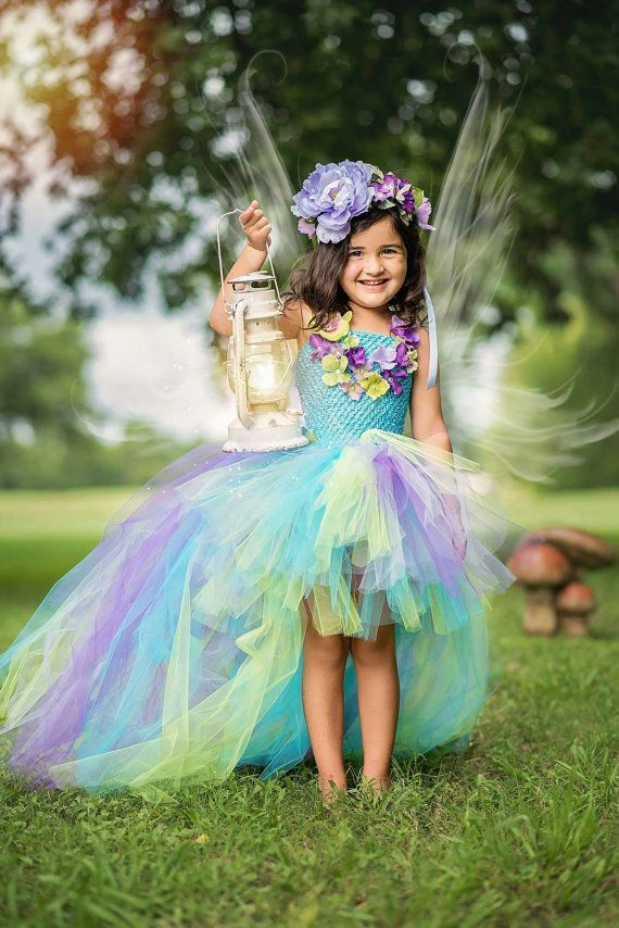 Fairy tutu dress fairy costume water fairy by TheMuseCreations
