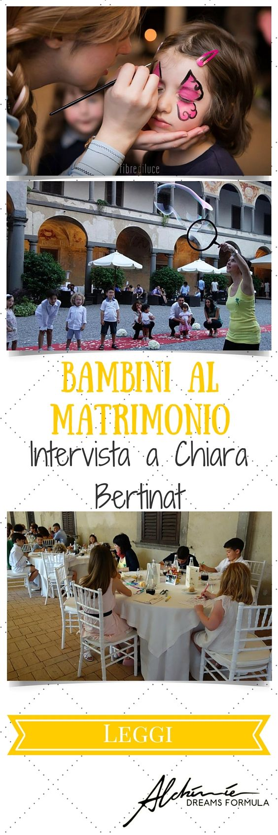 Bambini al matrimonio – Intervista a Chiara Bertinat