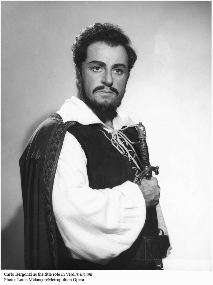 Carlo Bergonzi was an Italian operatic tenor. Although he performed and recorded some bel canto and verismo roles, he was above all associated with the operas of Giuseppe Verdi.