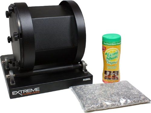 Stainless Steel Ammo Reloading Kit - Extreme Tumblers Rebel 17 Tumbler - Stainless Steel Media - Detergent, 2015 Amazon Top Rated Science #Toy