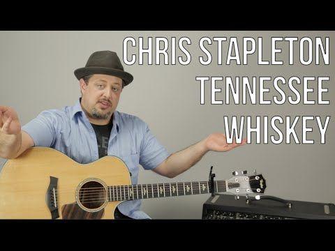 Chris Stapleton - Tennessee Whiskey - Guitar Lesson - How To Play Super Easy Beginner Acoustic - YouTube