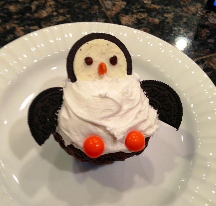 Penguin cupcakes!