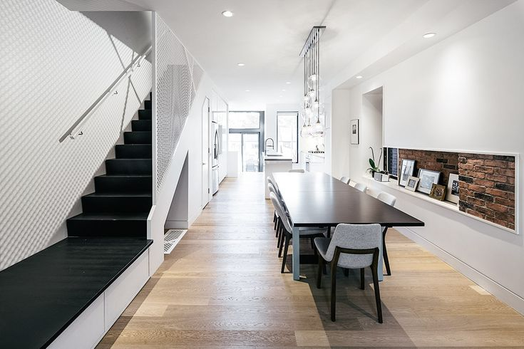 Once an exact replica of its neighbor, the Junction Shadow House underwent a complete renovation to set itself apart from its semi-detached twin. Wedged between two structures in a tight Toronto neighborhood, the only access to natural light comes from...