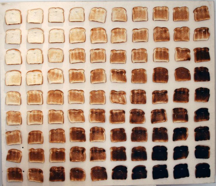 How well done do you like your toast? Photo from the fantastic 'Things Organised Neatly' blog
