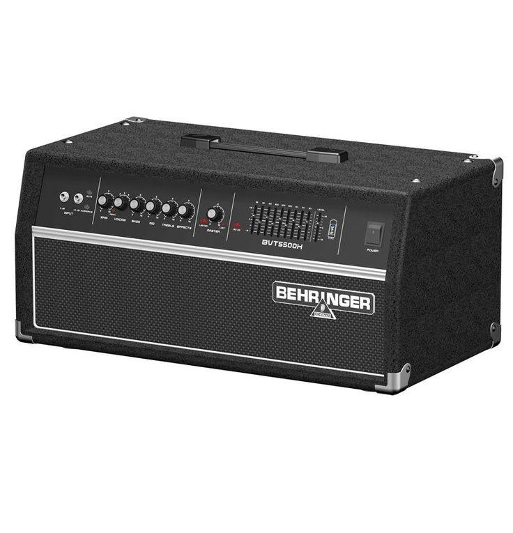 AMPLIFICADOR DE BAJO 550WATS Cabezal de amplificador clásico de 550 W para bajo con modelado valvular VTC y selector de estilo