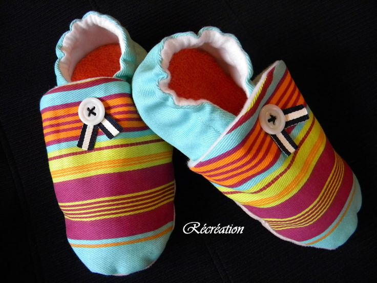 Chaussons d'intérieur pour enfant - Adaptable de la naissance à la pointure 30 !