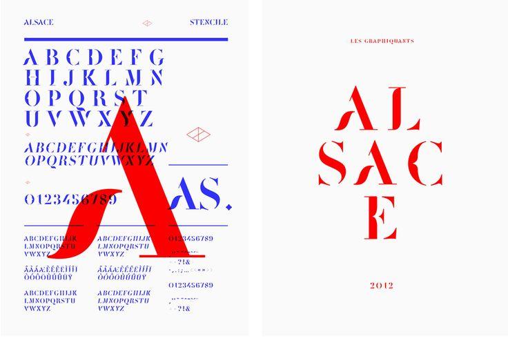 Alsace - Typographies - Les Graphiquants