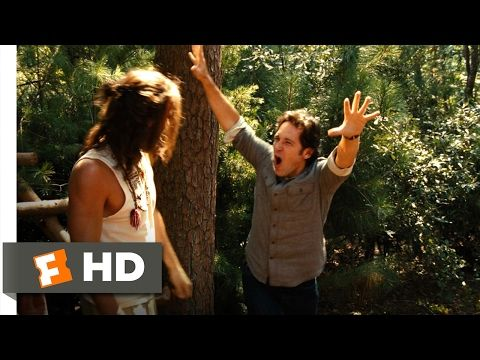 Wanderlust (2012) - Primal Gesticulating Scene (4/10) | Movieclips