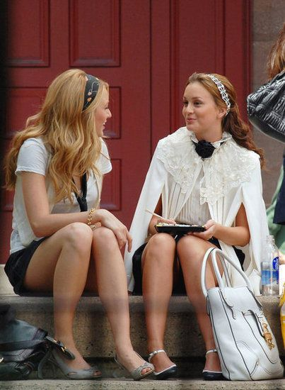 Blair Waldorf and Serena Van Der Woodsen style – – #Uncategorized