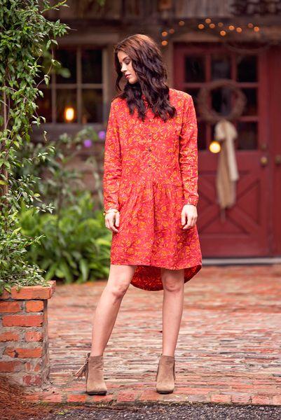 Bonjour My Love Batik Dress