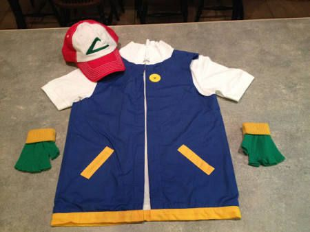 ash from pokemon costume for kids - Google Search