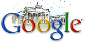 Google Doodle: German Unity Day 2002