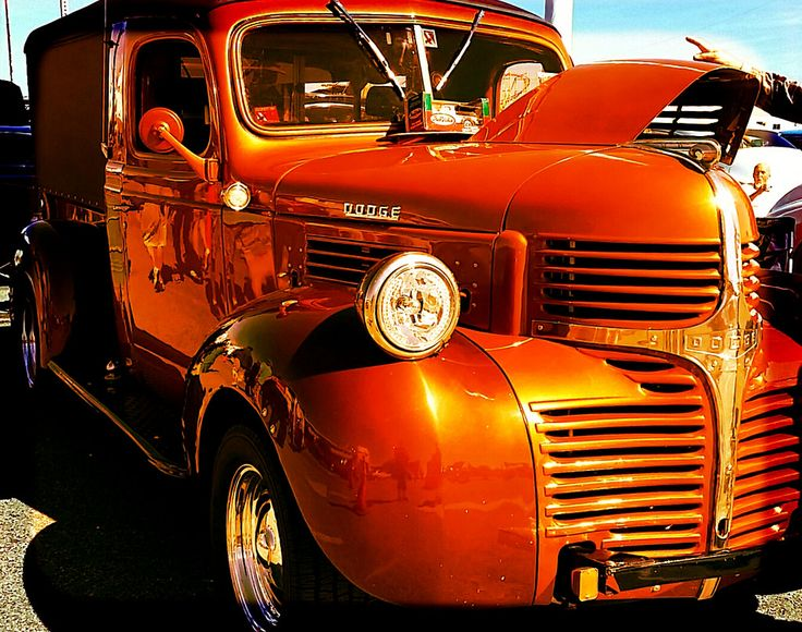 https://flic.kr/p/RgbyGW | vintage orange Dodge truck | ocean city, md | Car & truck shows around the Delmarva peninsula area