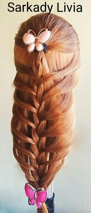 Hajfonàs#braid#beautyhairstyle#hajfonàs