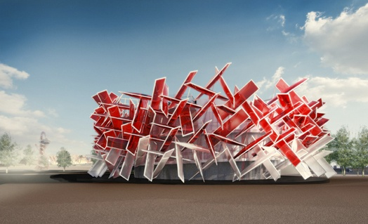 Coke olympic paviliion: London Olympic, Magazines Design, Cocacola Beatbox, Cocacola En, Design Interiors, Interiors Architecture, Fashion Art, Coca Cola Beatbox, Beats Boxes