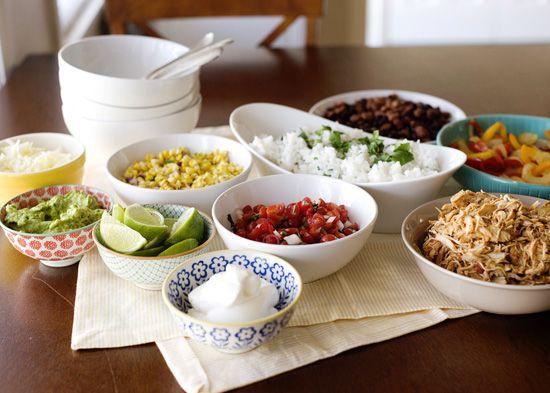 Burrito Bowl Night