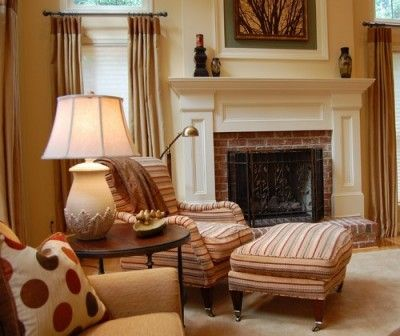 Project in Tiburon Traditional Family Room - Modern Furniture, Home Designs & Decoration Ideas