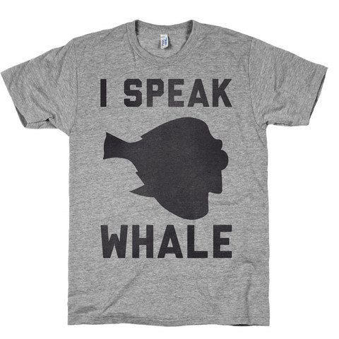 Speak Whale T shirt, Finding Nemo, Clothing, Dori, Top, Shirts, American Apparel, Nerdy.