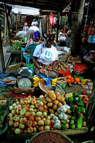Inhambane Market, Mozambique