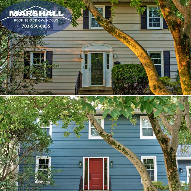Pin by Marshall Roofing, Siding & Win on Before and After ...