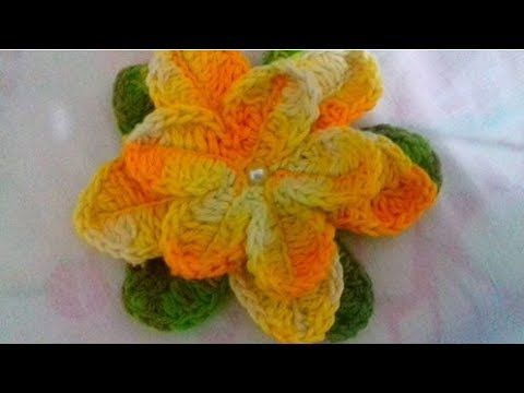 Amigurumi Flower Tutorial : Best how to make flowers from tissue paper and crochet images