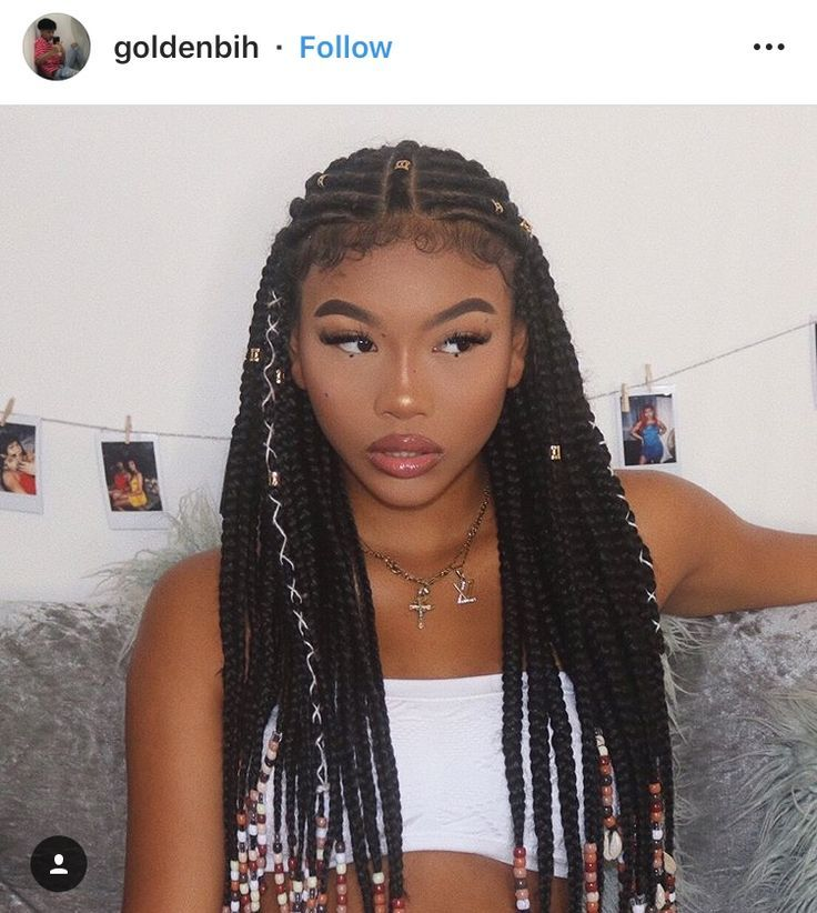 It S Time For Some Braids African Braids Hairstyles Girls