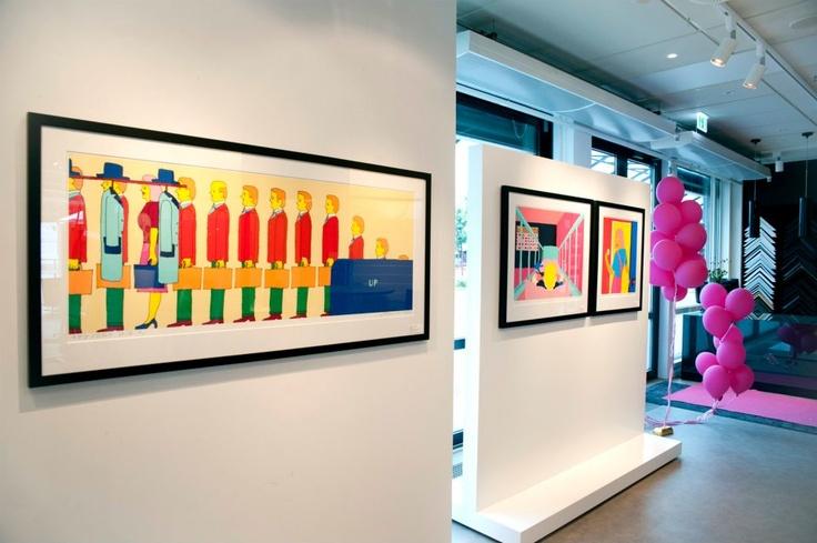 13.juni 2012 inviterte vi til foredrag om #Pushwagner med Peter Mejlænder #art #kunst #vernissage #utstilling