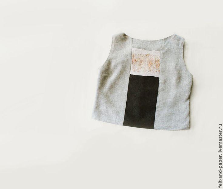 Купить 25% скидка Топ из коллекции RabFac - серый, топ, стильный топ, коллекция rabfac