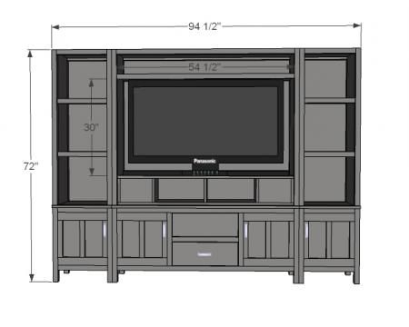 Free Woodworking Plans Entertainment Center
