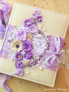Скрапбукинг с любовью ...: Нежный Свадебный альбом