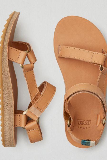 AEO Teva Sandals, Women's, Size: 10, Tan