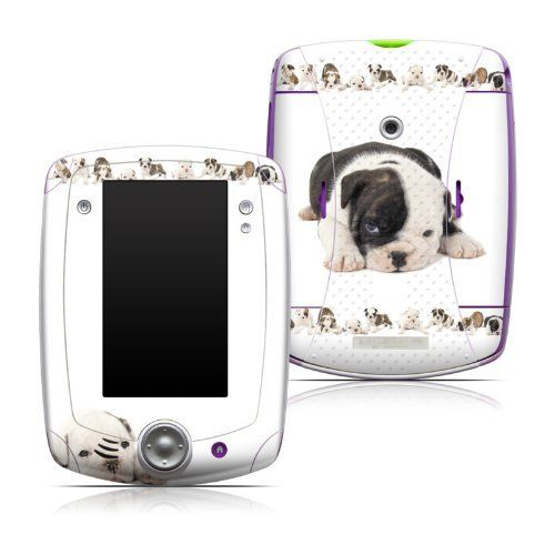 Lazy Days Design Protective Decal Skin Sticker for LeapFrog LeapPad Explorer 32200 Learning Tablet by MyGift. $12.99. Specially designed and cut to cover and protect the front and back of your LeapFrog LeapPad Explorer 32200 Learning Tablet, with cutout sections for all buttons and speakers.. Puppies Lazy Days art-quality design.. Uses a unique channeled adhesive to make this skin decal easy to apply and remove and to prevent air bubbles and sticky residue.. A protective com...