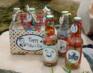 Cute DIY gift for Dads and Papas. :)