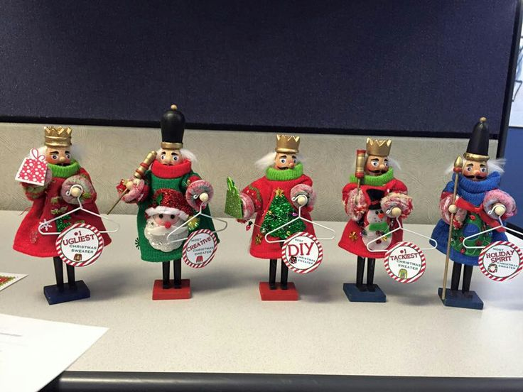 Nutcracker Ugly Sweater Awards I made!                                                                                                                                                                                 More
