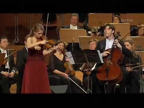 Handel-Halvorsen's Passacaglia in G minor (perf. Julia Fischer violin & Daniel Muller-Schott cello)