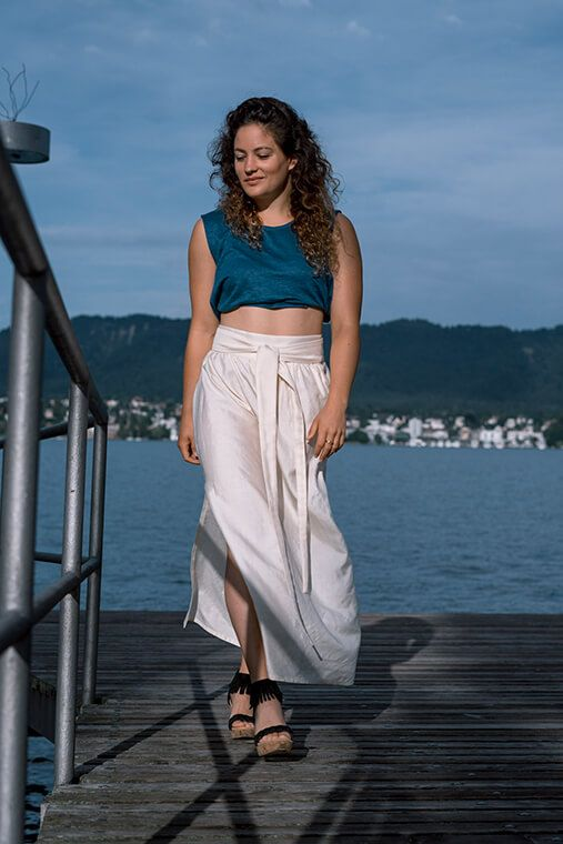 Summer, Fair Fashion Outfit, Inspiration: Jungle Folk, Anina Mutter, Zürich, See