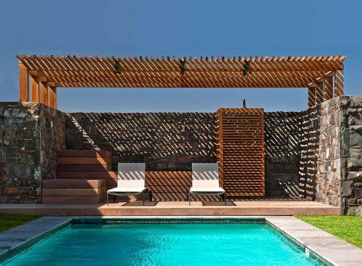 die besten 17 ideen zu sichtschutzmauer auf pinterest. Black Bedroom Furniture Sets. Home Design Ideas