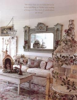 Romantic Country Living Room Decorating Pinterest