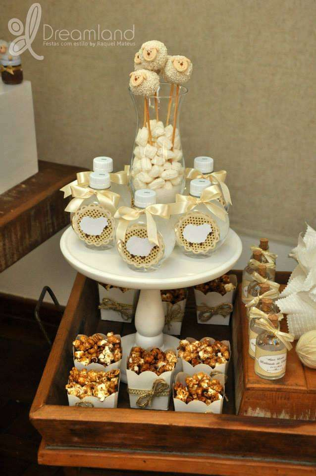 Sheep / Lambs Baptism Party Ideas | Photo 6 of 12 | Catch My Party