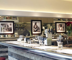 Barrafina - great for quick, high quality Tapas served at the bar http://www.barrafina.co.uk/#