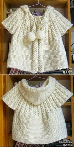Little Girl Hooded Short Sleeve