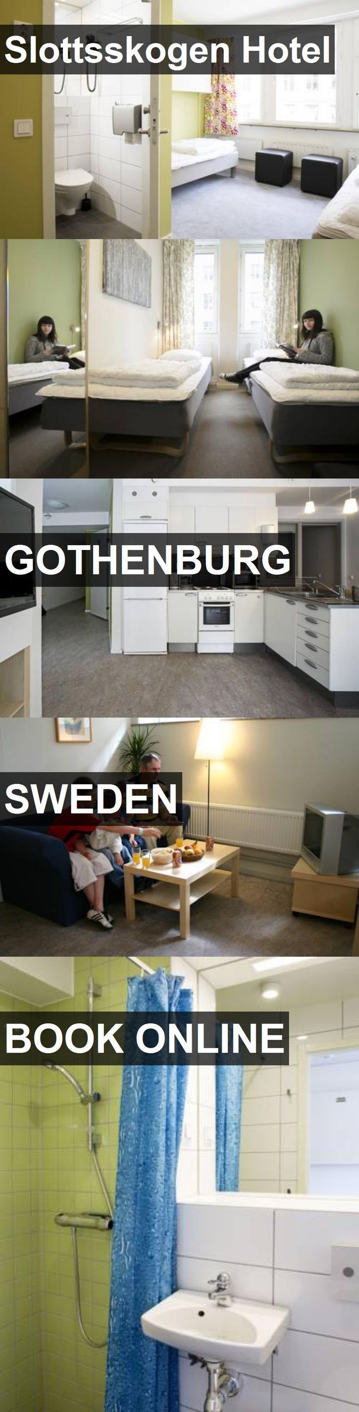 Slottsskogen Hotel in Gothenburg, Sweden. For more…