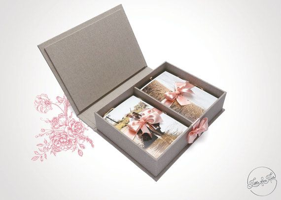 Photo Box Double 10x15 /Photographer Photo Packaging or Gift Box/