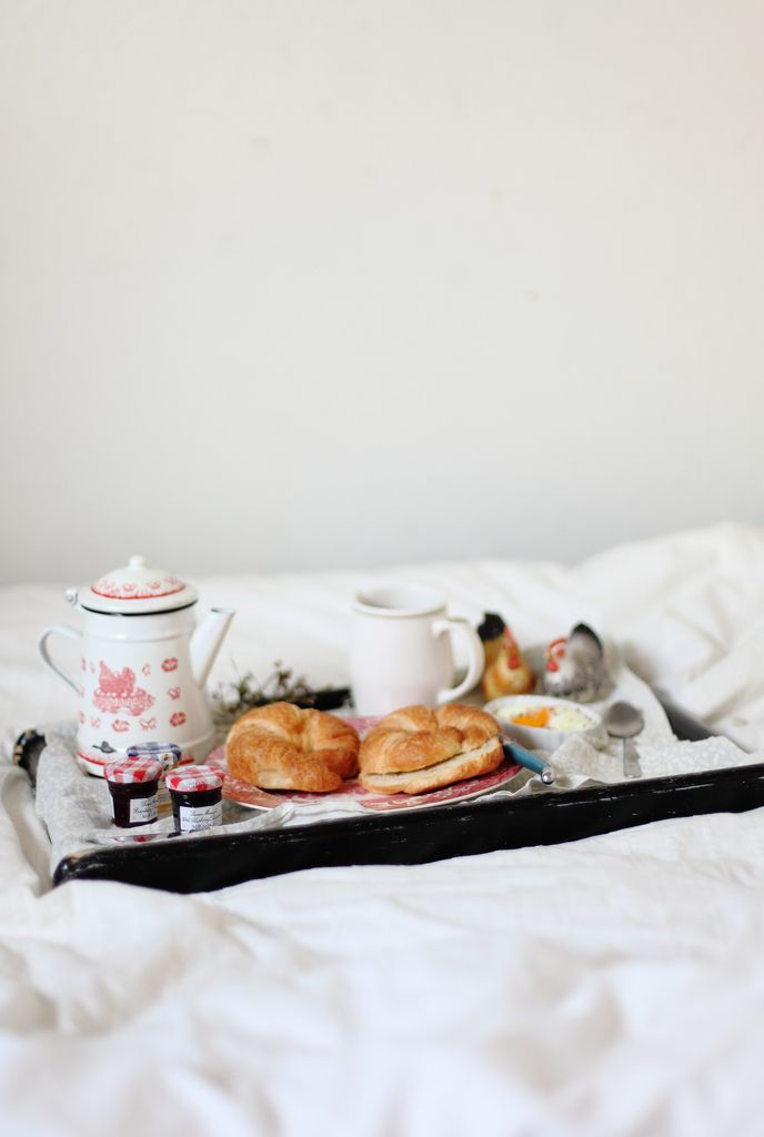 breakfast in bed. by always with butter