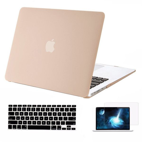 Mosiso for Macbook Air 13 13.3 inch A1369 A1466 Protective Hard Shell Case Cover + Keyboard cover + Screen Protector