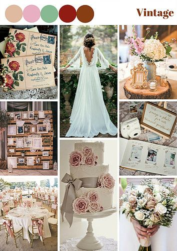 Fashion is a cycle and vintage wedding is a trend