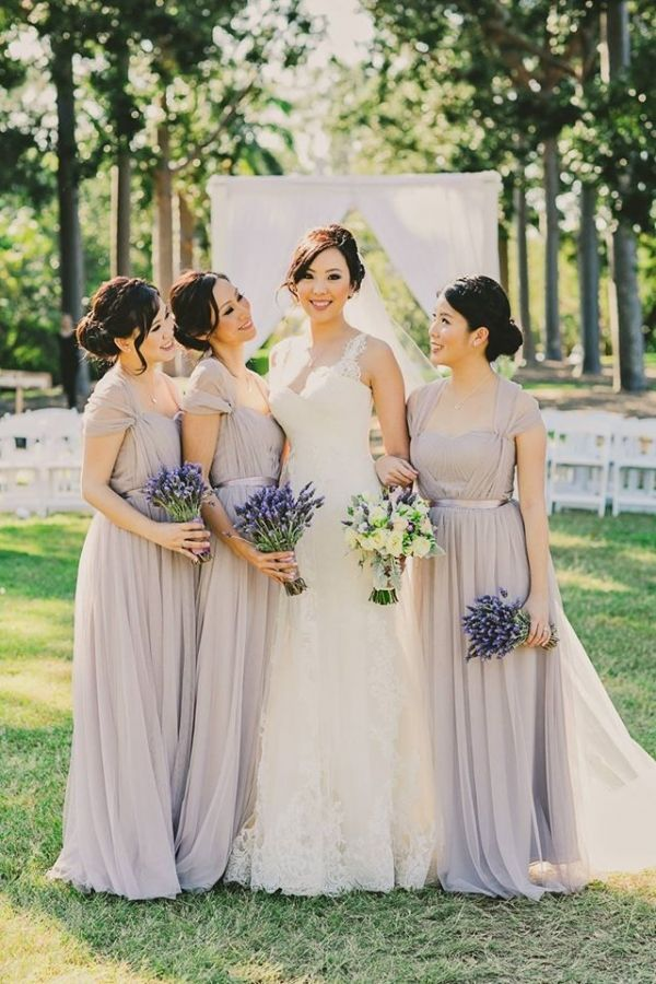 French Lavender And White Wedding Inspiration