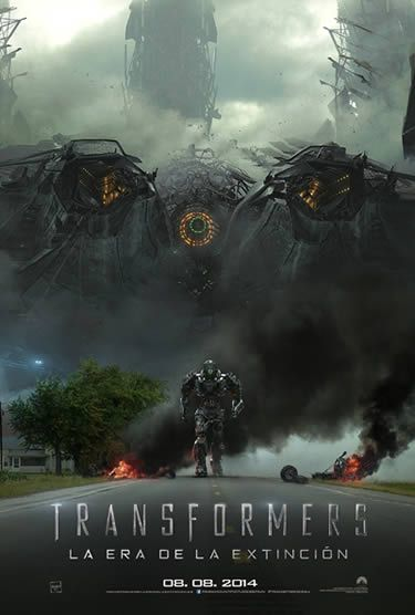 Póster de Transformers 4: La Era de la Extinción (Transformers 4: Age of Extinction)